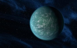 Impression of Kepler22b