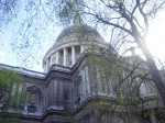 Close up of St Paul's Cathedral