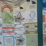 Drone quilt - an advocacy project