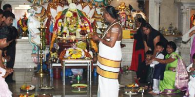 Tamil Hindu setting