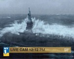 Statue of Liberty Hurricane Sandy