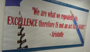 Exhortation from Aristotle