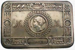 Princess Mary Golden Gift Box