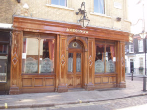 John Snow pub, Soho, London
