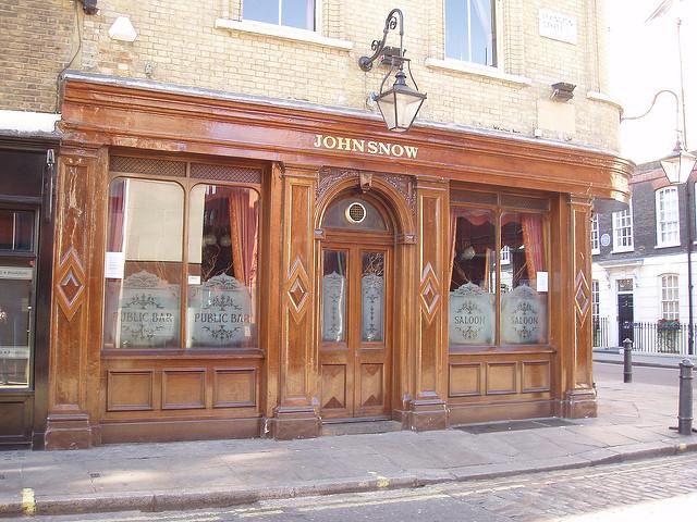 John Snow pub, Soho, London