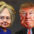 Clinton and Trump caricatures 2